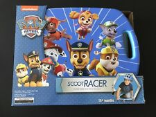 Paw Patrol Scoot Board Scooter with Casters for Kids Scoot Racer New