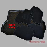 Fußmatten + TPE Gummi Kofferraumwanne SET 5-tlg für Hyundai ix35 ab Bj.2010 -