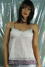 Women's Juniors Striped 100% Cotton Tank, Cami Tops & Blouses