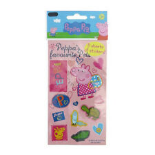 Peppa Pig Party Supplies Stickers 3x Sheets Peppa's Favourite Pets