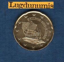 Chypre - 2015 - 20 Centimes D'Euro  - Pièce neuve de rouleau -