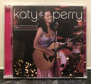 Katy Perry - MTV Unplugged LIVE (CD / DVD, 2009) PAL