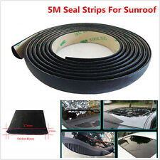 5M Waterproof Car Sunroof Windshield Window Rubber Sealed Strips Trim 3M Sticker