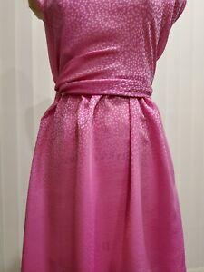 Italian Pure Silk Printed Georgette, Exclusive designer fabric. 2 meters.