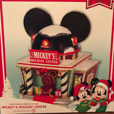 New in Box Department 56 -  Disney Mickey's  Holiday Center
