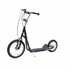 HOMCOM Teen Push Scooter Kids Children Stunt Scooter Bike Bicycle Ride On