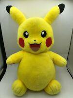 Build A Bear BAB Pikachu 2017 Pokemon Plush Kids Soft Stuffed Toy Animal Doll