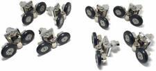 Lot de 8roulettes pour porte de douche simple/glissières/roues/poulies