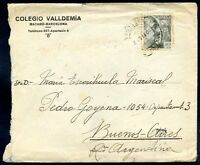 SPAIN TO ARGENTINA Censored Cover 1940