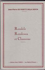 RONDELS RONDEAUX ET CHANSONS  JP DE PERETTI DELLE ROCCA   1992