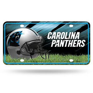 NFL Carolina Panthers Metal Plate Rico Sign Licence Plate USA License Plate
