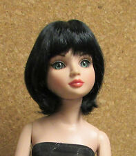 "Doll Wig, Monique ""Hannah"" Sz 5/6 OFF BLACK"
