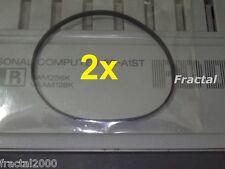 2X MSX 2 / 2+ Rubber Belt FDD Drive Panasonic FS-A1F FX WX WSX TURBO R ST GT NEW