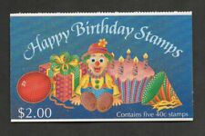 New Zealand #1032a, happy birthday stamps booklet.