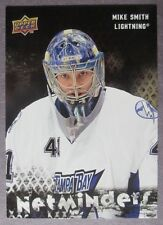 2009-10 Upper Deck Netminders #NET8 Mike Smith Tampa Bay Lightning