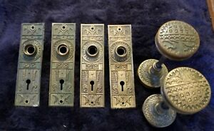 Eastlake Victorian Doorknobs & Backplates