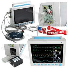 USA Fedex CMS8000 ICU CCU Patient Monitor 6 Parameters Vital Signs Monitor FDA