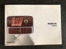 Notice Utilisation Nokia E75