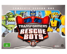 TRANSFORMERS RESCUE BOTS COMPLETE Season 1 DVD GIFT BOX SET BRAND NEW RELEASE R4