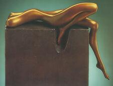 """SELTEN: Bronze-Skulptur """"La Sdraiata"""", Frühwerk von Bruno Bruni"""
