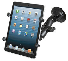 "RAM-B-166-UN8U XGRIP UNIVERSAL SUCTION CUP CAR SUV MOUNT HOLDER FOR 7"" TABLETS"