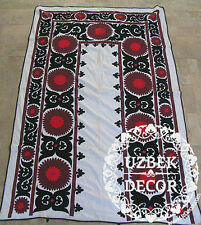 UZBEK SILK HAND EMBROIDERED SUZANI JOYPYSH # 8486