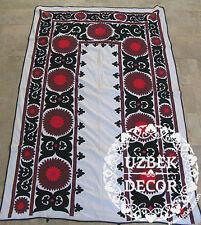 UZBEK SILK HAND EMBROIDERED SUZANI JOYPYSH # 8486