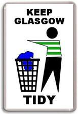 Celtic, Keep Glasgow Tidy Fridge Magnet Free Postage