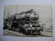ALG04 - ALGERIAN STATE RAILWAYS - STEAM LOCOMOTIVE Original POSTCARD Algeria