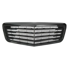 Gloss Black Front Grille For Mercedes Benz W211 E-Class E320 E350 E550 E63 07-09