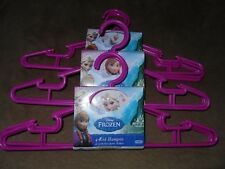 3 Disney Frozen 4-Pack Children's Plastic Hangers-Total Of 12-New