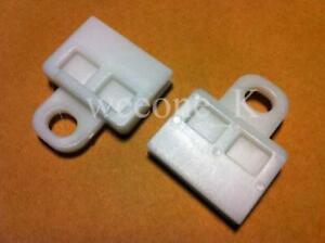 1 PAIR DOOR GLASS WINDOW TRACK CLIPS FIT FOR TOYOTA HILUX MK6 VIGO SR5 2005-2014