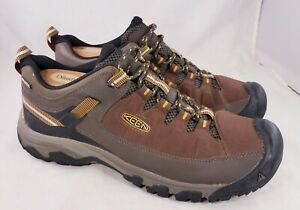 KEEN TARGHEE EXP WIDE MAN SHOES BROWN SIZE 47/13