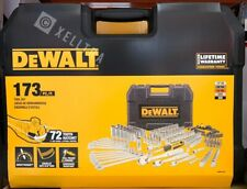 DEWALT 173 Piece Chrome Polish Mechanics Tool Set DWMT41019
