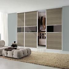 Sliding Wardrobe Doors Fox frame, 3 doors to suit an opening of 2820W x 2100H