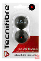 Tecnifibre Red Dot Squash Balls - 2 Ball Pack