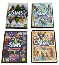 Sims 3: Deluxe (Windows/Mac, 2010) with 3 Expansion packs -A11