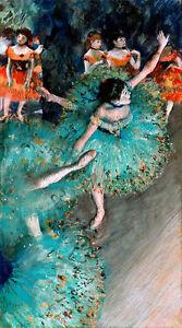 Swaying Dancer A1 by Edgar Degas High Quality Canvas Print