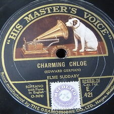 78rpm ELSIE SUDDABY charming chloe / shepherds cradle song