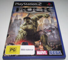 The Incredible Hulk PS2 PAL *Complete*