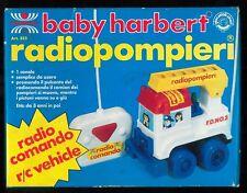 RADIOPOMPIERI ART.355 baby harbert RADIOCOMANDO R/C VEHICLE - FONDO MAGAZZINO