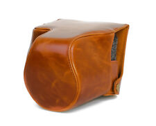 Camera Case Case for Leica V-Lux Type 114 Faux Leather Bag Brown CC1282c