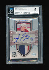 BGS 9 ALEXANDER PEREZHOGIN 2005-06 UPPER DECK THE CUP PATCH AUTOGRAPH AUTO #/199