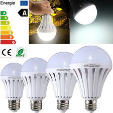 4pcs 9W LED Bulb E27 Energy Saving Light Emergency Pure White Lamp Spotlight