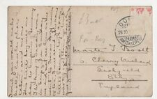 Master J. Booth, 6 Cherry Orchard Lichfield Postcard, B180