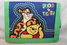 New With Tag Winnie The Pooh And Tigger Kids Trifold Wallet