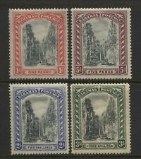 Bahamas 1921 - 1929 Queens Staircase Set Unused Mounted