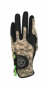 Zero Friction Men's Compression-Fit Synthetic Golf Glove, Universal Fit One S...
