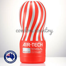 Tenga Reusable Vacuum Cup REGULAR RED Masturbator AMAZING DISCREET