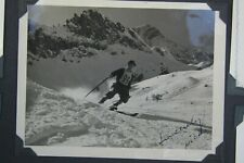 1930's Original DICK DURRANCE Best Olympic Skier, Signed Photo, 50+ PHOTOS